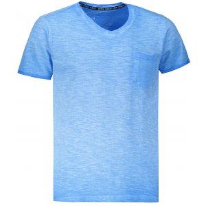 Pánské triko OMBRE AS1053 BLUE
