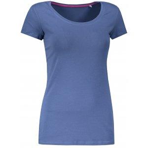 Dámské triko STEDMAN CLAIRE CREW NECK DENIM BLUE