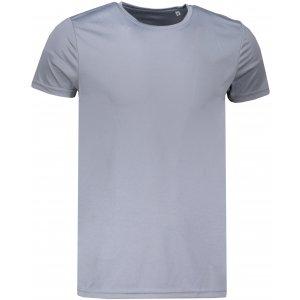 Pánské funkční triko STEDMAN ACTIVE SPORTS-T SILVER GREY