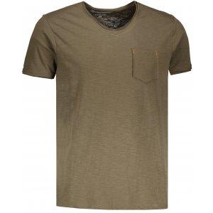 Pánské triko OMBRE AS1100 OLIVE
