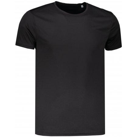 Pánské funkční triko STEDMAN ACTIVE SPORTS-T BLACK OPAL