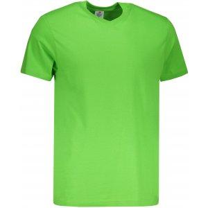 Pánské triko STEDMAN CLASSIC-T V-NECK KIWI GREEN