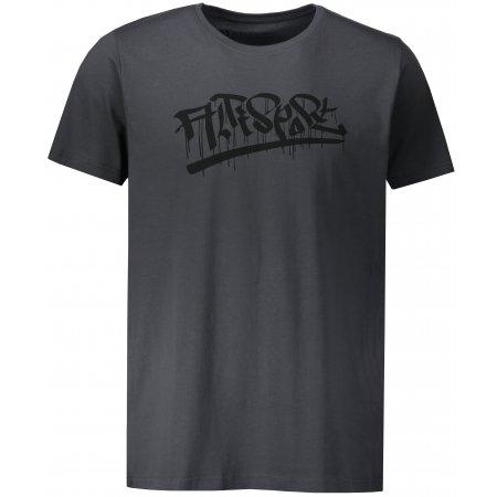 Pánské triko ALTISPORT BRAIS MTSP484 TMAVĚ ŠEDÁ