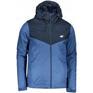 Pánská lyžařská bunda 4F Z19-KUMN301 BLUE MELANGE