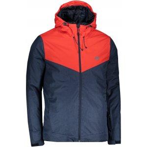 Pánská lyžařská bunda 4F Z19-KUMN301 NAVY MELANGE