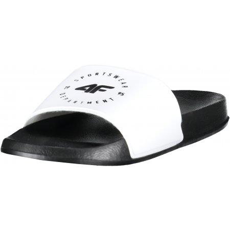 Dámské pantofle 4F Z19-KLD202 WHITE