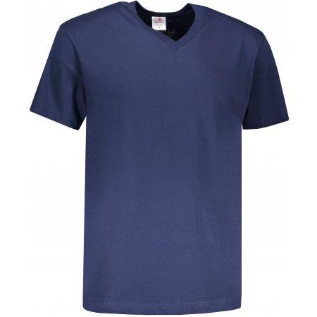 Pánské triko STEDMAN CLASSIC-T V-NECK NAVY BLUE