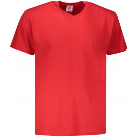 Pánské triko STEDMAN CLASSIC-T V-NECK SCARLET RED