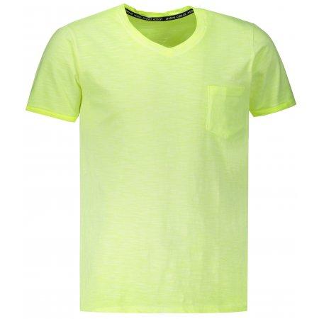 Pánské triko OMBRE AS1053 YELLOW