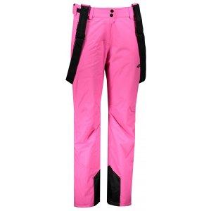 Dámské lyžařské kalhoty 4F Z19-SPDN103 HOT PINK