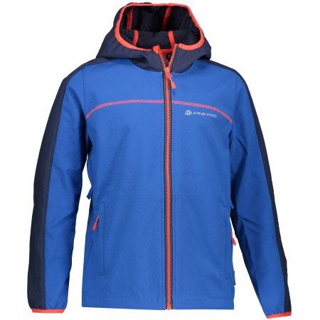 Chlapecká softshellová bunda ALPINE PRO NOOTKO 7 KJCP144 MODRÁ