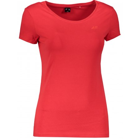 Dámské triko 4F NOSD4-TSD300 RED