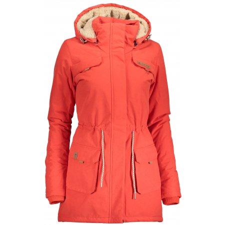 Dámský zimní kabát ALPINE PRO EDITE 5 LCTP103 ORANŽOVÁ