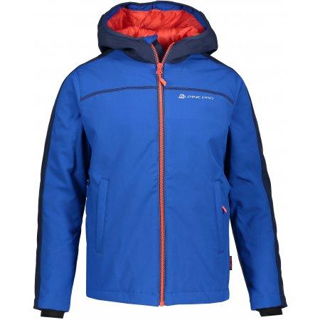 Dětská zimní softshellová bunda ALPINE PRO NOOTKO 2 INS. KJCP147 MODRÁ
