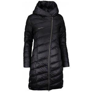 Dámský zimní kabát ALPINE PRO OMEGA 3 LCTP102 ČERNÁ