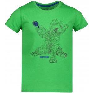 Dětské triko ALPINE PRO IVARO 2 KTSP199 ZELENÁ