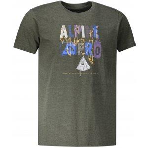 Pánské triko ALPINE PRO ABIC 7 MTSP404 KHAKI