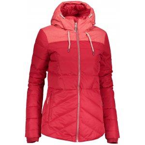 Dámská zimní bunda ALPINE PRO GABRIELLA 3 LJCP345 ČERVENÁ
