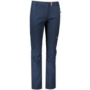 Dámské softshellové zateplené kalhoty ALPINE PRO MURIA 3 INS. LPAP340 TMAVĚ MODRÁ