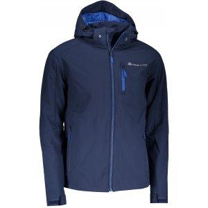 Pánská zimní softshellová bunda ALPINE PRO NOOTK 2 INS. MJCP356 TMAVĚ MODRÁ