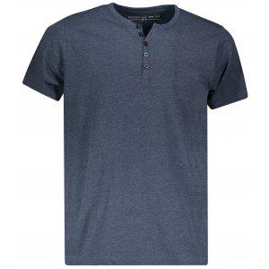 Pánské triko ALPINE PRO PAYTIN MTSP516 TMAVĚ MODRÁ