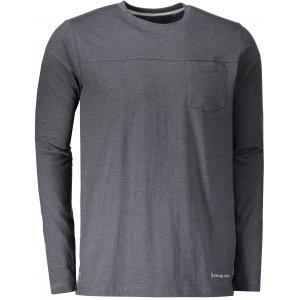 Pánské triko ALPINE PRO MAUD MTSP406 TMAVĚ ŠEDÁ
