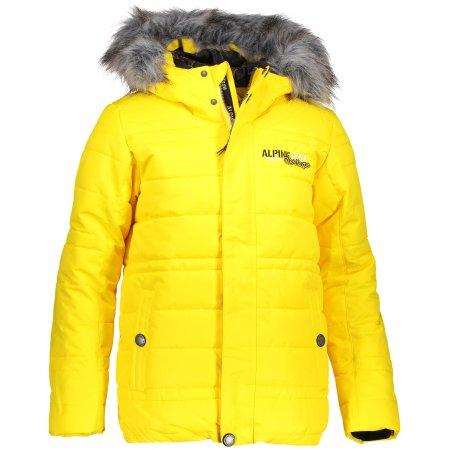 Dětská zimní bunda ALPINE PRO ICYBO 3 KJCP148 ŽLUTÁ