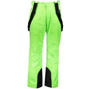 Pánské lyžařské kalhoty 4F Z19-SPMN255A CANARY GREEN NEON