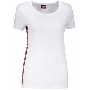 Dámské triko s krátkým rukávem SAM 73 WT 782 BÍLÁ