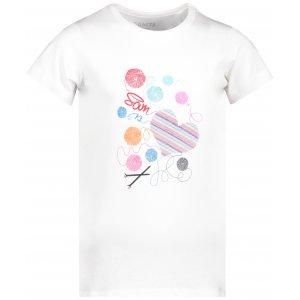 Dívčí triko s krátkým rukávem SAM 73 KTSP248 BÍLÁ