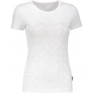 Dámské triko s krátkým rukávem SAM 73 LTSP531 BÍLÁ