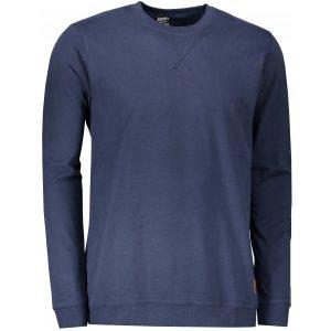Pánské triko s dlouhým rukávem SAM 73 MTSP433 TMAVĚ MODRÁ