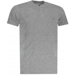 Pánské triko OMBRE AS1047 GREY
