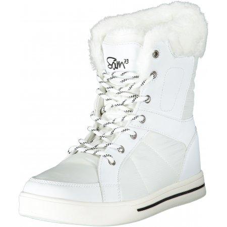Dámské zimní boty SAM 73 LBTP228 BÍLÁ
