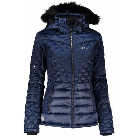 Dámská zimní bunda ALTISPORT AVEN TMAVĚ MODRÁ