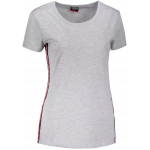 Dámské triko s krátkým rukávem SAM 73 WT 782 SVĚTLE ŠEDÁ