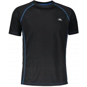 Pánské funkční triko TRESPASS ETHEN MATOTSM10004 BLACK/VARIANT BLUE