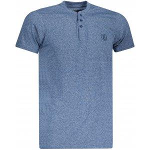 Pánské triko OMBRE AS1047 BLUE