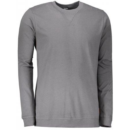 Pánské triko s dlouhým rukávem SAM 73 MTSP433 ŠEDÁ
