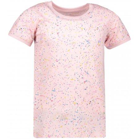 Dívčí triko s krátkým rukávem SAM 73 KTSP250 SVĚTLE RŮŽOVÁ
