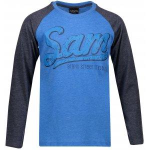 Chlapecké triko s dlouhým rukávem SAM 73 BT 531 JASNÁ MODRÁ