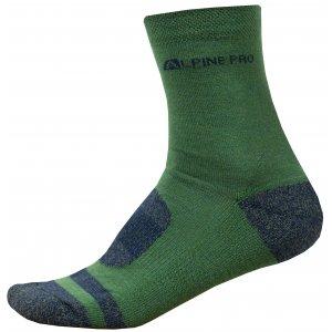Ponožky ALPINE PRO GENTIN 2 USCR038 ZELENÁ