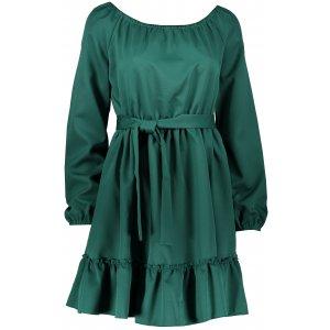 Dámské šaty NUMOCO DAISY A265-1 ZELENÁ