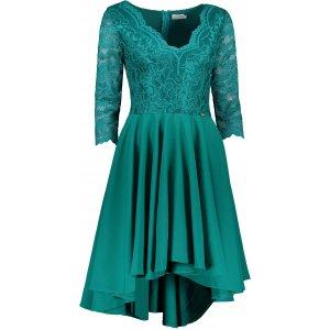 Dámské šaty NUMOCO NICOLLE A210-8 ZELENÁ