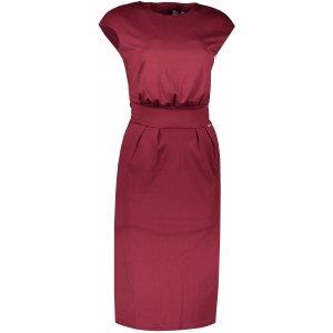 Dámské šaty NUMOCO SARA A144-7 BORDO