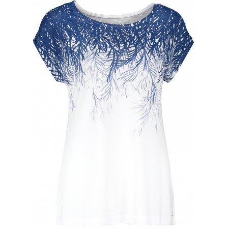 Dámské triko s krátkým rukávem ALTISPORT JULITTA LTSR641 BÍLÁ