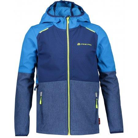 Chlapecká softshellová bunda ALPINE PRO NOOTKO 9 KJCR167 MODRÁ