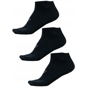 Dámské ponožky 4F NOSD4-SOD302 DEEP BLACK