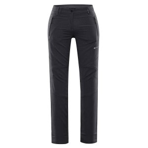 Dámské softshellové kalhoty ALPINE PRO MURIA 4 LPAR341 ČERNÁ