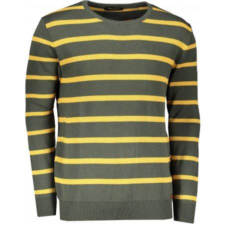 Pánský svetr OMBRE AE155 GREEN